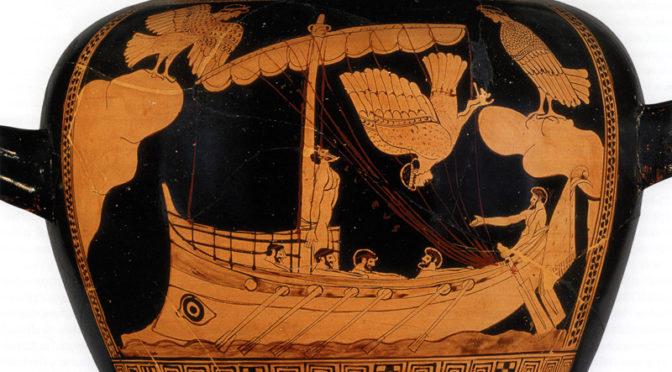 Représentation du voyage dans la mythologue grecque